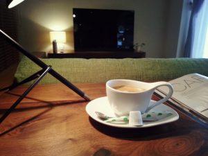 夜更けのコーヒー