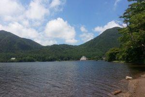 榛名湖の眺め