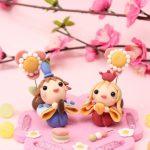 雛人形を飾って春の気分に。娘の「吊し雛」と私の「お雛様」を飾りました!